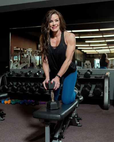 Marla Reid, Owner of Fitness Junky Gym in Panama City Beach, Florida